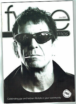 LOU REED - Fyne Times July 2007. Francis Bacon
