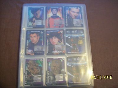 doctor who monster invasion trading cards
