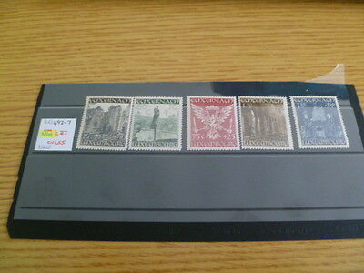 Luxembourg mnh SG 492-7 Catalogue value £55 Ref RU8