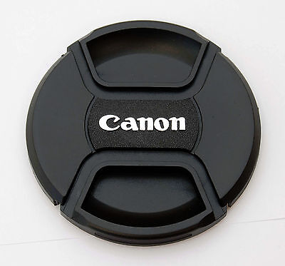 77mm Center Pinch Front Lens Cap for Canon E-77 II EF-S 10-22mm 70-200mm IS II
