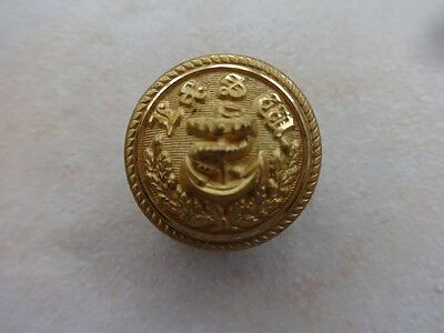 London & South Western Railway Large Marine Dept Gilt Button.