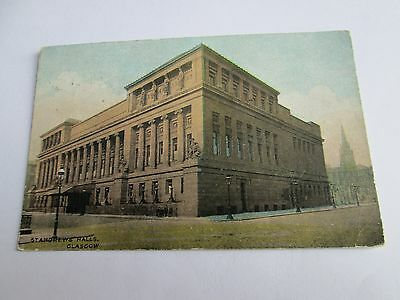 Postcard of St Andrews Halls, Glasgow (Posted National Series)