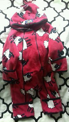 Snuggyhoods. All in one 9m-12m 1-2