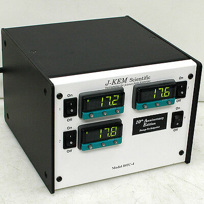 J-Kem Scientific DTC-4 3-channel Digital Temperature Controller 3300 Cal Control