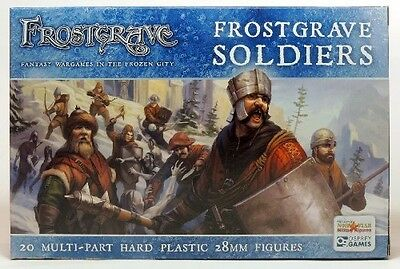 North Star Miniatures Frostgrave Soldiers 20 Multi-Part Hard Plastic 28mm Figs