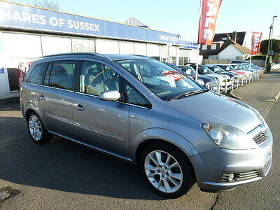 2006 Vauxhall Zafira Design 7 Seater 2.2 Manual Silver
