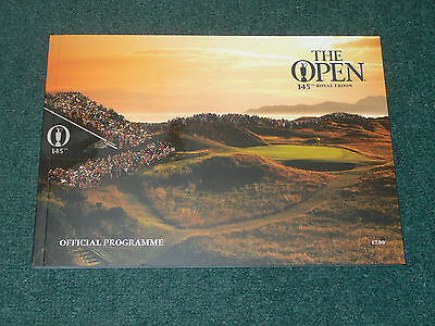 2016 British Open Golf Championship (ROYAL TROON) Official Programme