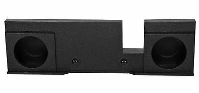 """Dual 10"""" Sealed Subwoofer Sub Box Enclosure For 04-08 Ford F150 Xcab SuperCrew"""