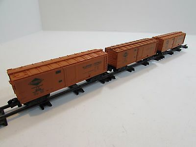 American Flyer 3 Car IC Rolling Stock Set                -gze