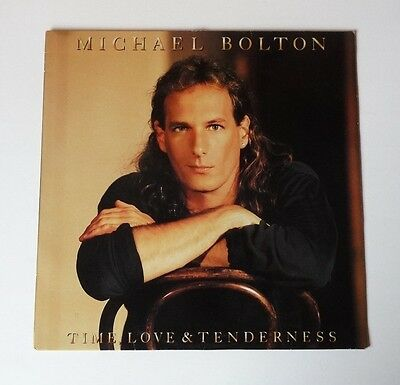 MICHAEL BOLTON : Time, Love & Tenderness 12 inch Vinyl LP Record