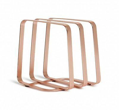 Umbra PULSE COPPER NAPKIN HOLDER Metal Free Standing