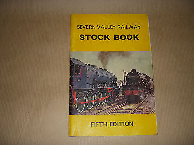 VINTAGE SEVERN VALLEY RAILWAY STOCK BOOK 5th EDITION