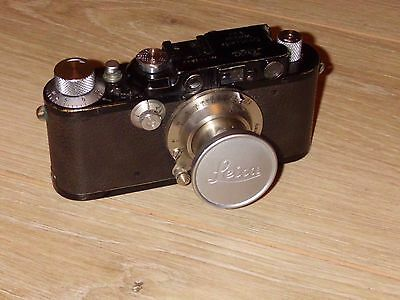 Leica Camera. H.m Govt Markings On Body And Lens.