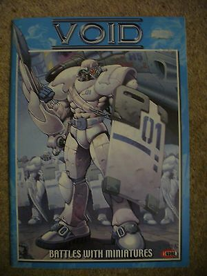 VOID BY i-KORE ORIGINAL RULEBOOK BATTLES WITH MINATURES 2000-2001