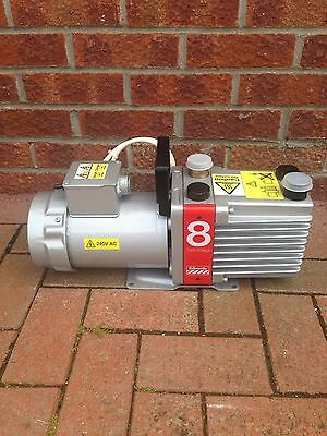 Vacuum Pump Edwards Rv E2M8- Serviced- Ready To Use- Buy Now £375.00 - NO MOTOR