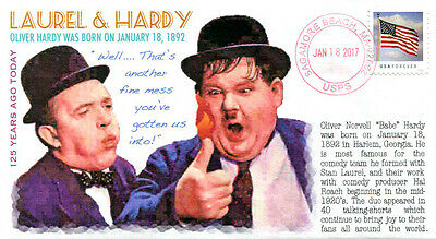 COVERSCAPE computer designed 125th Laurel & Hardy (Oliver Hardy) event cover