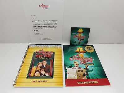 2012 Christmas Story Broadway Musical Script - Review - CD