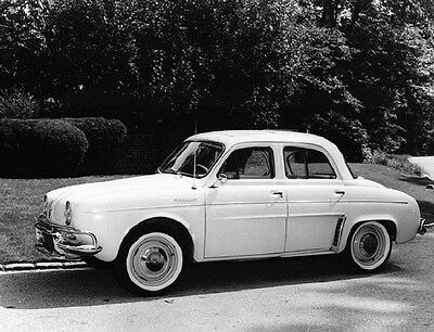1962 Renault Dauphine Factory Photo ca6109