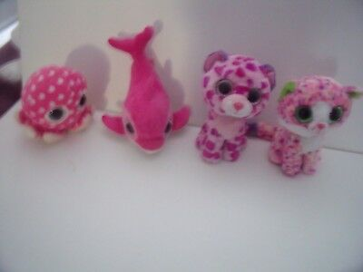 Bundle Of Ty Beanie Boos     Leopard Cubs - Cats