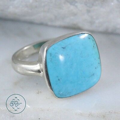 Sterling Silver - SALLY C TREASURES Bezel-Set Turquoise