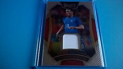 Panini Select Soccer 2016 17 Anthony Martial Relic 066/199