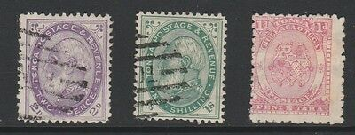 TONGA - VERY NICE LOT OF 3 x EARLY ISSUE USED STAMPS