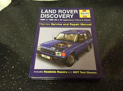 Haynes Service and Repair Manual Land Rover Discovery