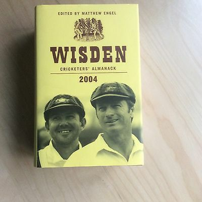 2004 Wisden Cricketers' Almanack Hard Backed Dust Jacket