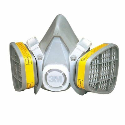 3M 21579 Half Facepiece Disposable Respirator 5303 Organic Vapor/Acid Gas, Large
