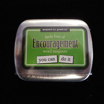 Magnetic Poetry Little Box of ENCOURAGEMENT Word Magnets