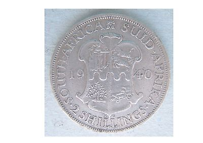 South Africa 1940 Two Shillings