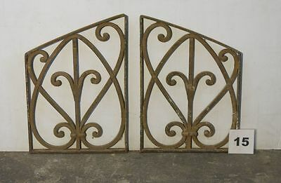 Antique Egyptian Architectural Wrought Iron Panel Grate (IS-015)