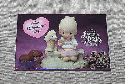 1993 Precious Moments Collection Valentines Day Pinback Enesco Metal Button