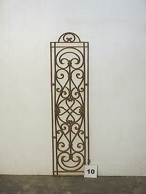 Antique Egyptian Architectural Wrought Iron Panel Grate (IS-010)