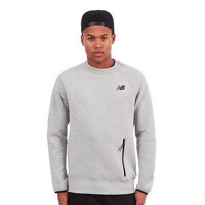 New Balance - Sport Style Sweater Athletic Grey Pullover Rundhals