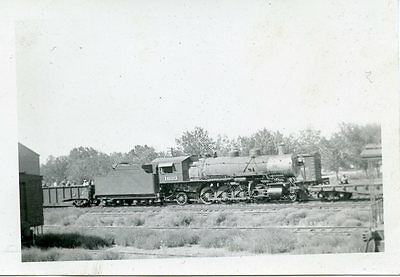 6E313 RP 1930s NORTHERN PACIFIC RAILROAD ENGINE #1633 FORSYTH MT