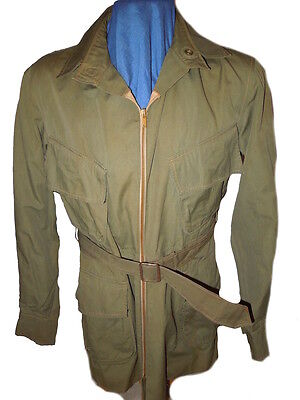 WWII US Army Japanese Occupation Made Silk Lined Airborne Jump Uniform Jacket