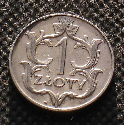 Old Coin Of Poland 1 Zloty 1929 Second Republic