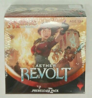 Mtg Aether Revolt Prerelease Pack In Hand