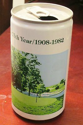 1982 Findlay Country Club 75Th Anniversary Commemorative Steel Beer Can Ohio
