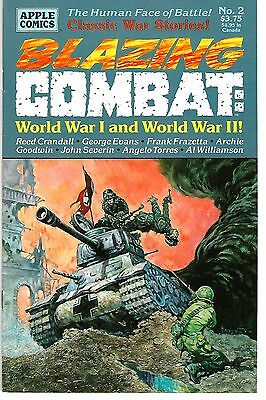 Blazing Combat: World War 1 & World War 2 #2 (1994) FN/VF   Frazetta - Goodwin