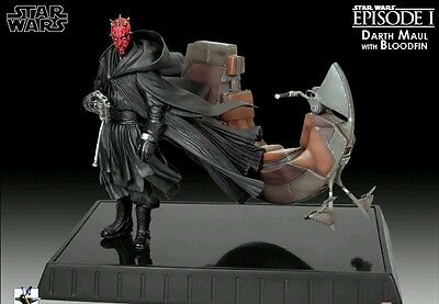 Gentle Giant - Darth Maul  Figure W/ BLOODFIN - Limited Edition Statue