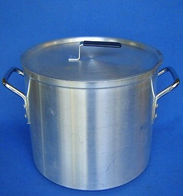 Vollrath Heavy Duty 20 Qt. Commercial Aluminum Stock Pot Tamale-Steamer-Soup+Lid