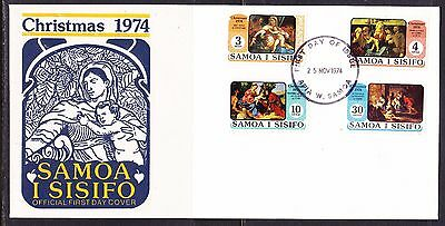Samoa 1974 - Christmas   First Day Cover - Unaddressed