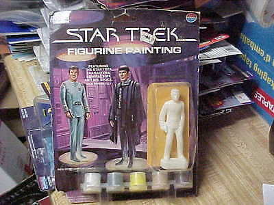 Whiting Products-Milton Bradley,,,,,admiral Kirk Figure For Painting,, Star Trek