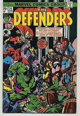 Defenders 24 Power Man and Daredevil Crossover High Grade