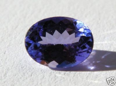 TANZANITE  NATURALE 0.75 ct (1447)