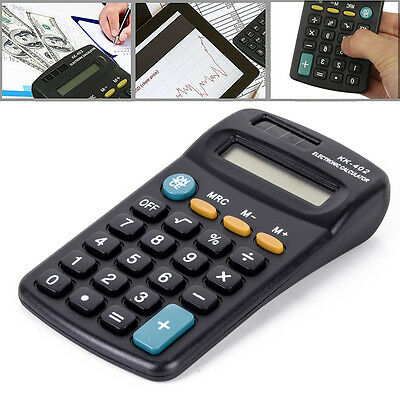 8 Digit Electronic Pocket Calculator Battery Powered School Office Hand Counter