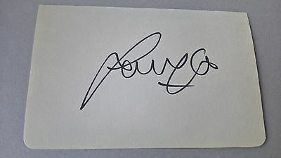 Sammy Lee - Liverpool - Hand Signed Card