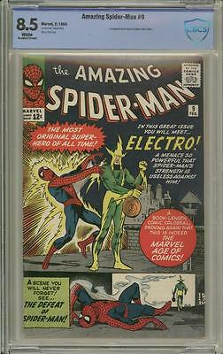 AMAZING SPIDER-MAN 9 - CBCS 8.5 - First appearance of Electro - Marvel Comics